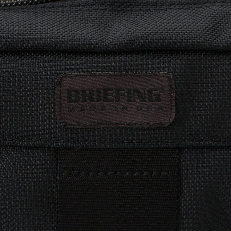 BRIEFINGが使用しているマテリアルの中で最もヘビーな、強度や耐久性、耐摩耗性に優れた「バリスティックナイロン」を採用。