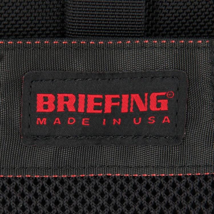BRIEFINGで最もヘビーな1050デニールバリスティックナイロンをメイン素材に使用。