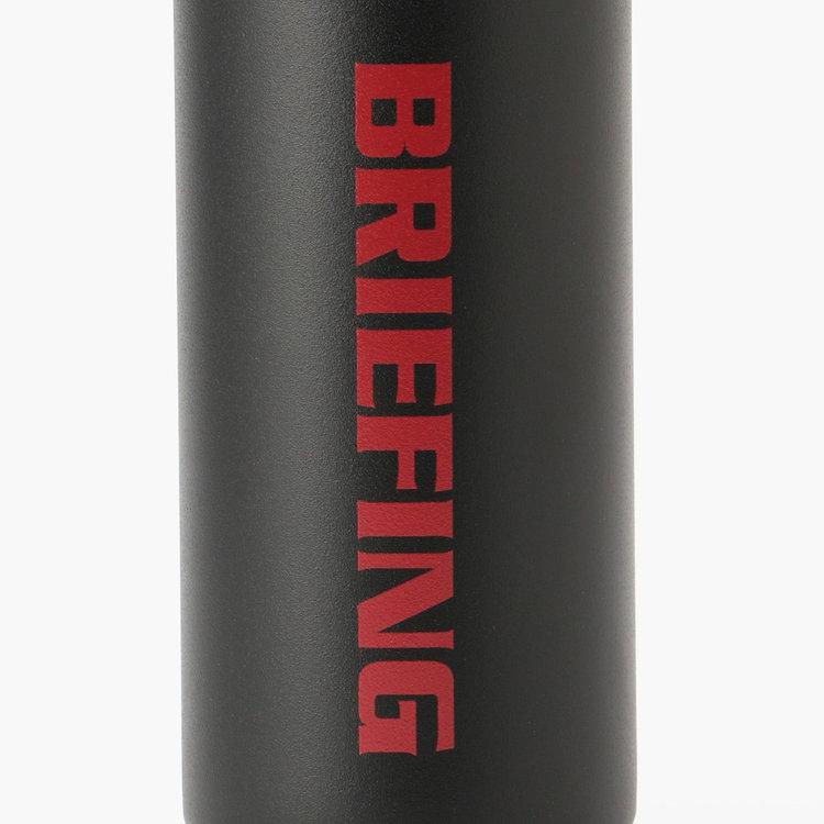 BRIEFINGとHYDRO FLASKのロゴマークを配したコラボならではのデザイン。