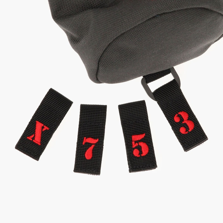 3・5・7・Xの番手タグが付属。