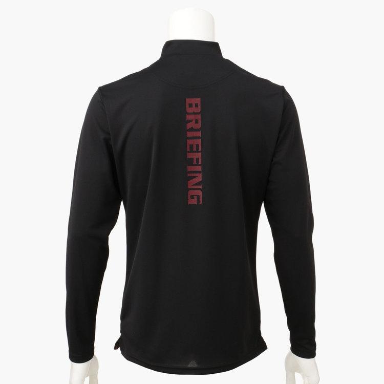 背面にBRIEFINGロゴを配した、1枚で着用した際も様になるデザイン。