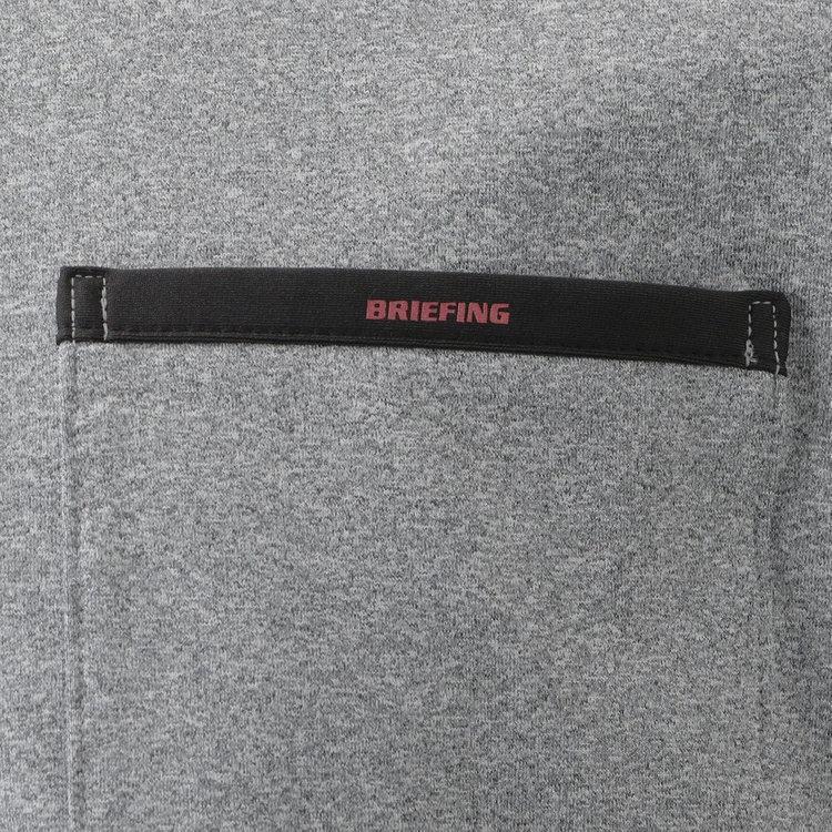 ポケットのフチに配したパイピングには、さりげなくBRIEFINGロゴをあしらいました。