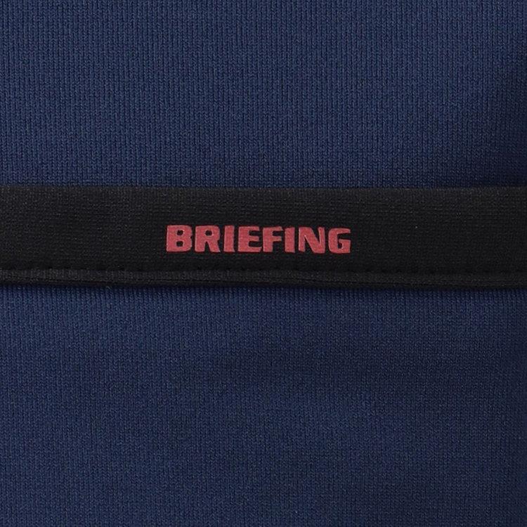 ポケット口にはBRIEFINGロゴを配したパイピングを施し、さりげないアクセントに。