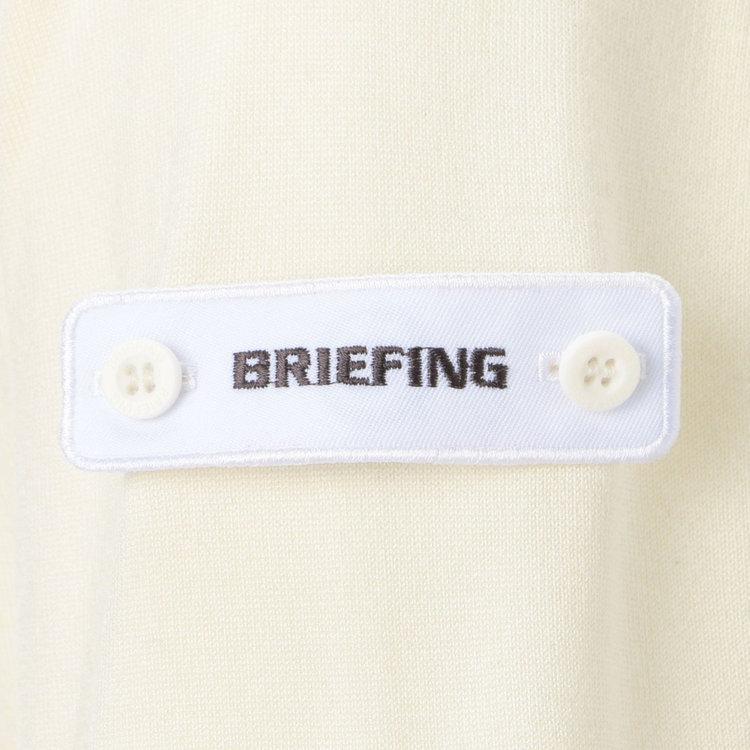 表にBRIEFINGロゴ、裏にBマークをあしらったワッペンは、その日の気分で表裏付け替えたり取り外したりする事が可能です。