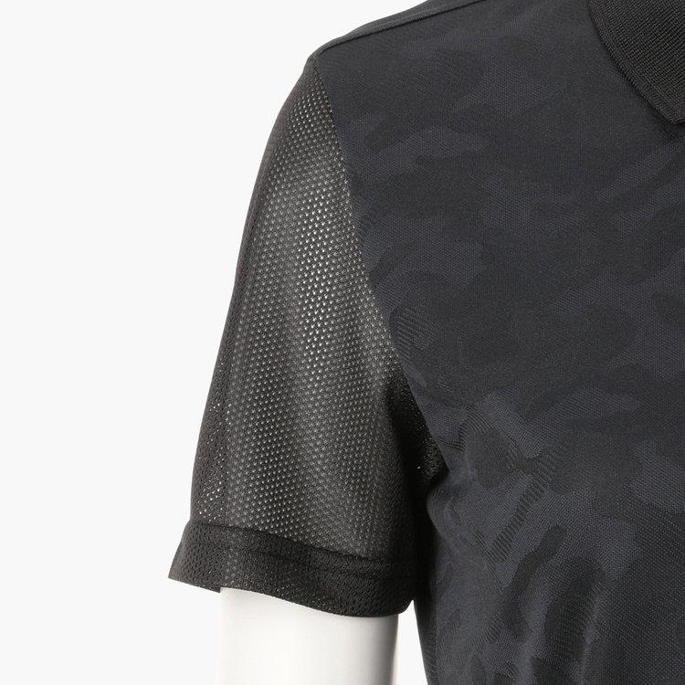 袖部分にメッシュ素材を使用した切り替えデザインを採用。