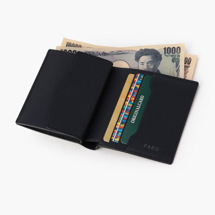 カード収納部分も1つ増やし、3枚のカードが収納できるように。